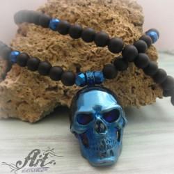 Мъжка броеница с естествени камъни PS-027