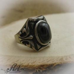Мъжки стоманен пръстен  RS-013