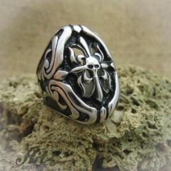 Мъжки стоманен пръстен  RS-018