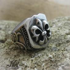 Мъжки стоманен пръстен  RS-019