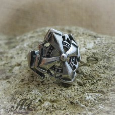 Мъжки стоманен пръстен  RS-020