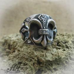 Мъжки стоманен пръстен  RS-025