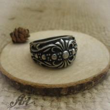 Мъжки стоманен пръстен  RS-014
