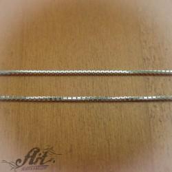 Сребърен синджир , дамски N-123 - 50 см.