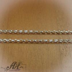 Сребърен синджир , дамски N-128 - 50 см.
