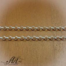 Сребърен синджир , дамски N-132 - 70 см.