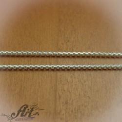 Сребърен синджир , дамски N-145 - 50 см.