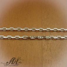 Сребърен синджир , дамски N-153 - 50 см.