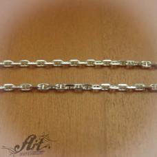 Сребърен синджир , дамски N-154 - 60 см.