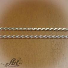 Сребърен синджир , дамски N-156 - 40 см.