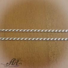 Сребърен синджир , дамски N-159 - 55 см.