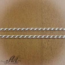 Сребърен синджир , дамски N-160 - 60 см.