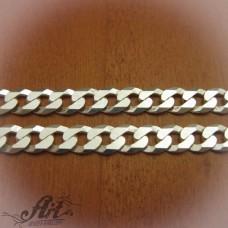 Сребърен синджир, мъжки N-143 - 50 см.