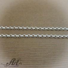 Сребърен синджир , дамски N-163 - 40 см.
