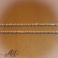 Сребърен синджир , дамски N-165 - 40 см.