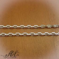 Сребърен синджир , дамски N-183 - 50 см.