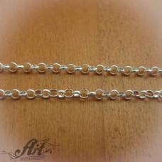 Сребърен синджир , дамски N-193 - 55 см.
