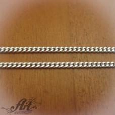 Сребърен синджир , дамски N-194 - 55 см.