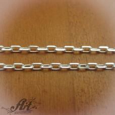 Сребърен синджир , дамски N-195 - 55 см.