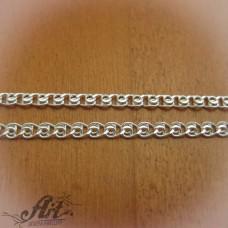 Сребърен синджир , дамски N-196 - 55 см.