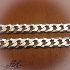 Сребърен синджир, мъжки N-191 - 55 см.
