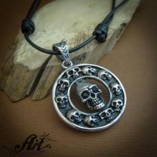 Мъжки стоманен медальон   PS-063