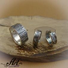 """Дамски сребърен комплект """"Дърво"""" S-238"""