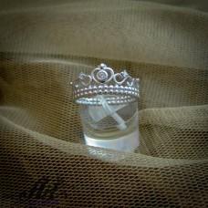 """Сребърен  пръстен """"Корона""""  R-671"""
