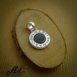 Сребърен медальон Bvlgari  P-683