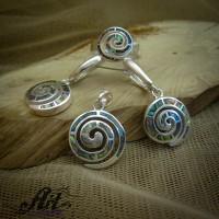 Дамски сребърен комплект  S-267