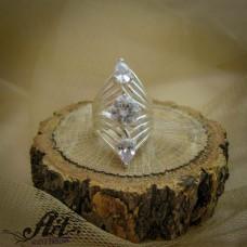 Сребърен  пръстен с цирконий   R-701