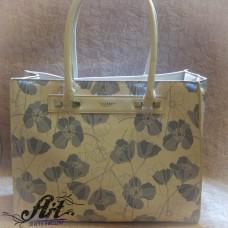 """Дамска чанта от еко кожа """"Макове"""" L-003"""