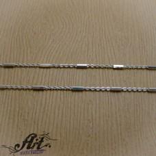 Сребърен синджир , дамски N-261 - 40 см.