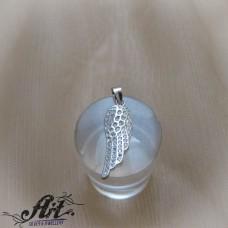 "Сребърен медальон ""Ангелско крило"" P-893"
