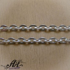 Мъжки сребърен синджир N-282 - 50 см.