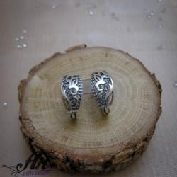 Сребърни дамски обеци E-1188
