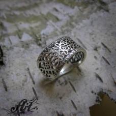 Сребърен дамски пръстен  R-961