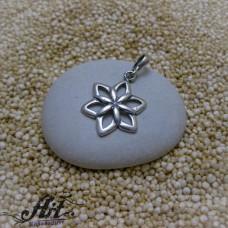 """Сребърен медальон  """"Цвете"""" P-1055"""