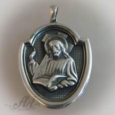 """Сребърен медальон """" Икона"""" P-118"""