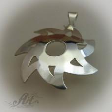 "Сребърен медальон "" Слънце"" P-125"