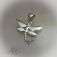 """Сребърен медальон  """" Водно конче"""" P-153"""
