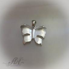 "Сребърен медальон  "" Пеперуда"" P-155"