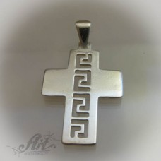 """Сребърен кръст """" Версаче""""  P-177"""