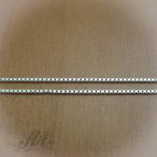 Сребърен синджир , дамски N-124 - 60 см.