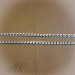Сребърен синджир , дамски N-064 - 50 см.