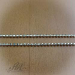 Сребърен синджир , дамски N-082 - 45 см.