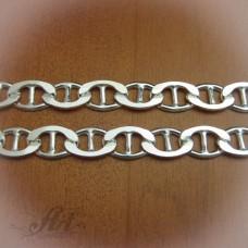 Сребърен синджир, мъжки N-043 - 55 см.
