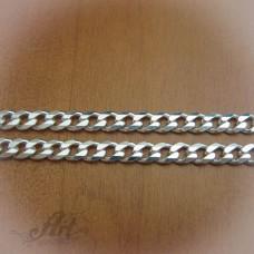 Сребърен синджир, мъжки N-045 - 55 см.