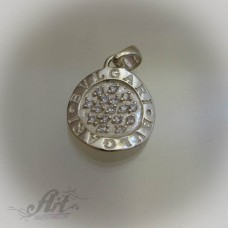 Дамски сребърен медальон на BVLGARI P-359