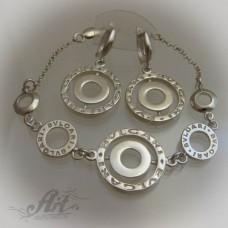 Дамски сребърен комплект